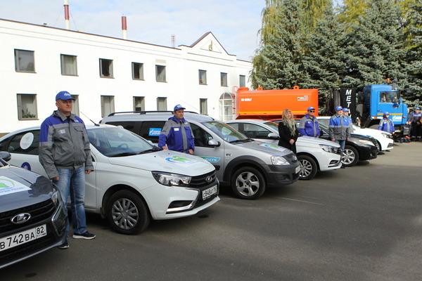 «Сердце России» замкнулось в Казани: в столице Татарстана финишировал экологический автопробег